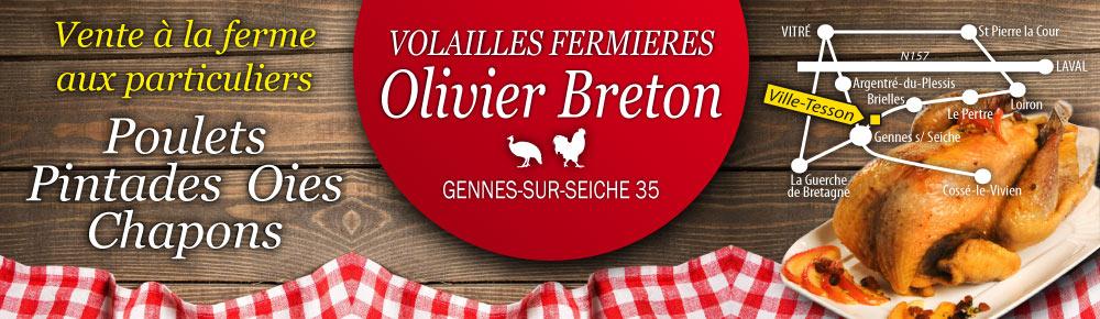 Breton Poulet Fermier
